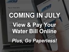 Coming In July - View and Pay Your Water Bill Online