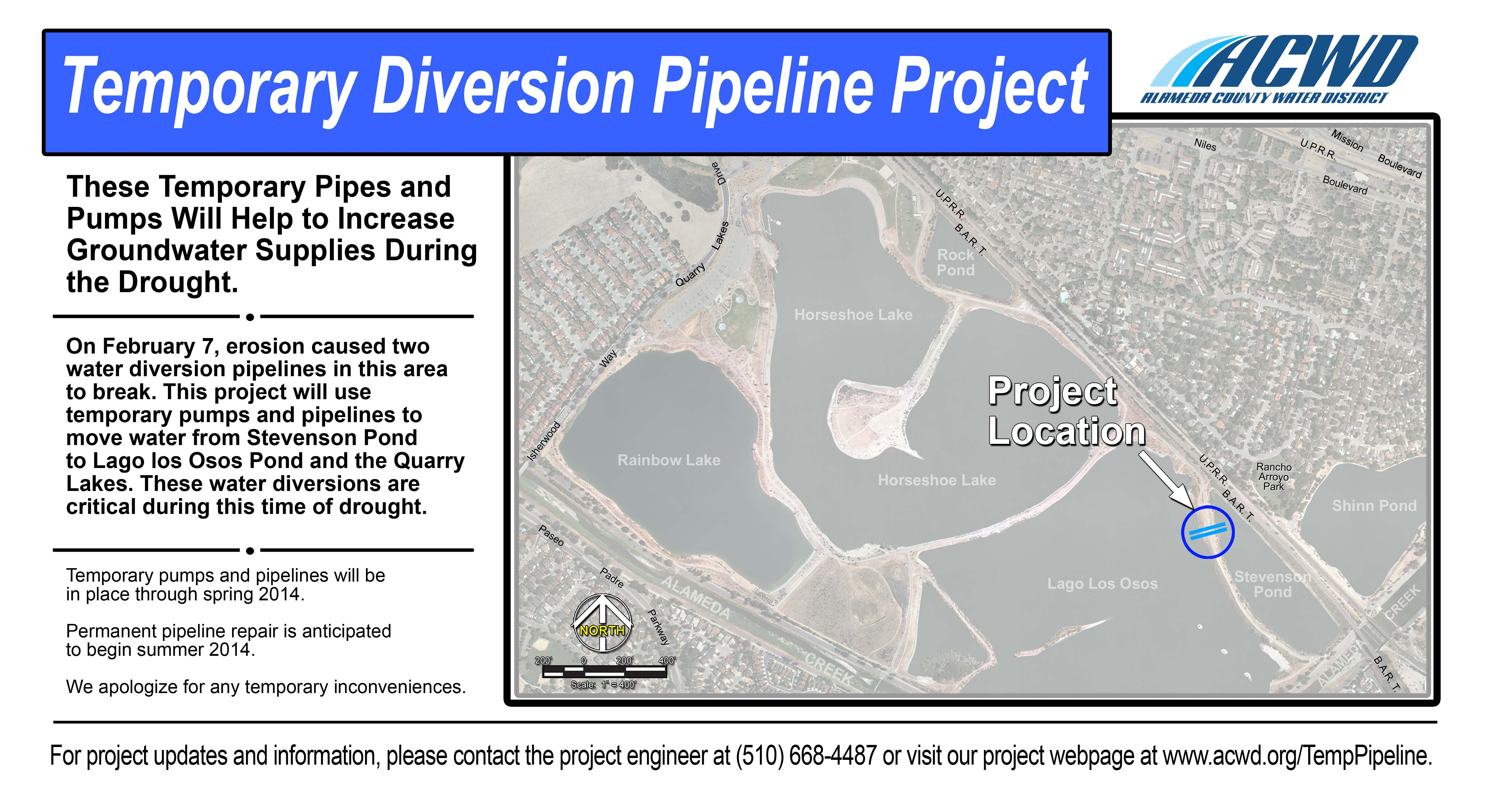 Diversion Pipeline Repair